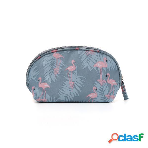 Imprimir Travel Cosmetic Bag Bolsa de lavado portátil