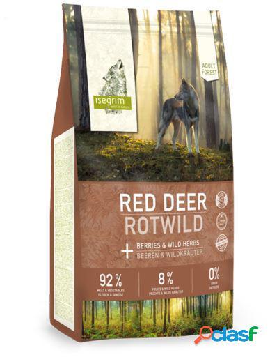 Isegrim Adulto Ciervo Rojo con Bayas y Hierbas Silvestres 12