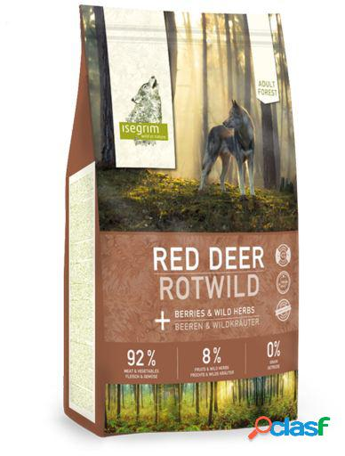 Isegrim Adulto Ciervo Rojo con Bayas y Hierbas Silvestres 3