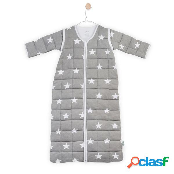 Jollein Saco de dormir 4-estaciones 70x43 cm gris