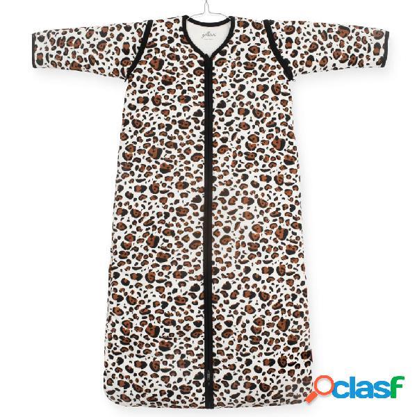 Jollein Saco de dormir para todo el año leopardo marrón