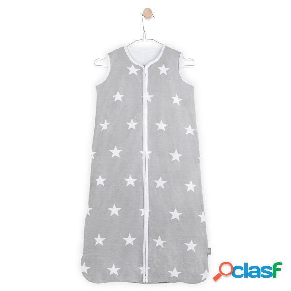 Jollein Saco de dormir para verano 110x51 cm gris