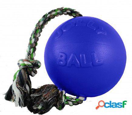 """Jolly Pet Ball Romp-N-Roll 8"""" Azul Oscuro 830 gr"""