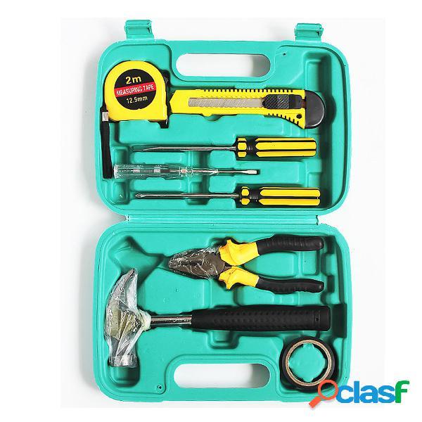 Juego de cajas de herramientas 9 en 1 Home Garden Mending