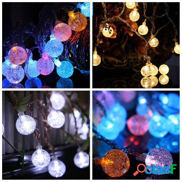 KCASA 2M 20 LED Bubble Ball cuerda luces LED luces de hadas