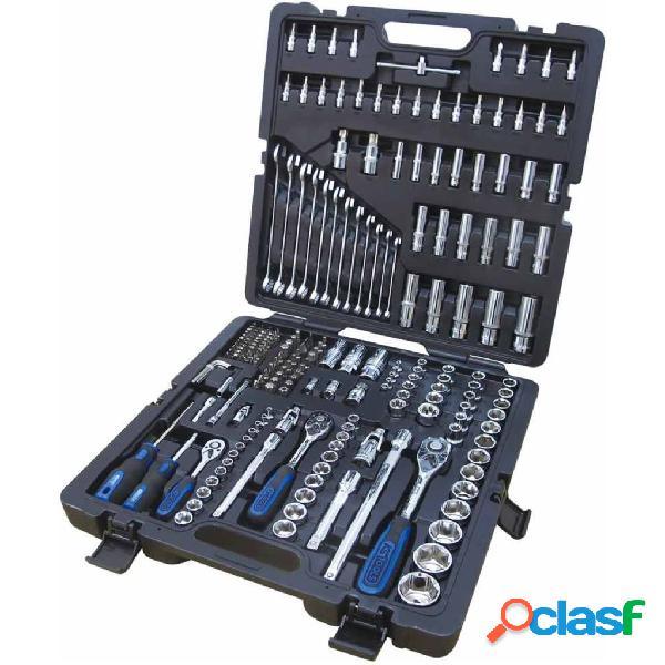 KS Tools Set de carraca vasos y puntas CHROMEplus 216 piezas