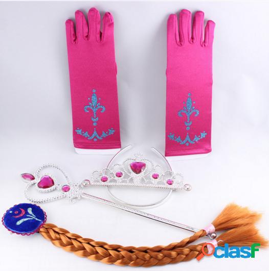 Kit accesorios inspirados en princesa Anna Frozen