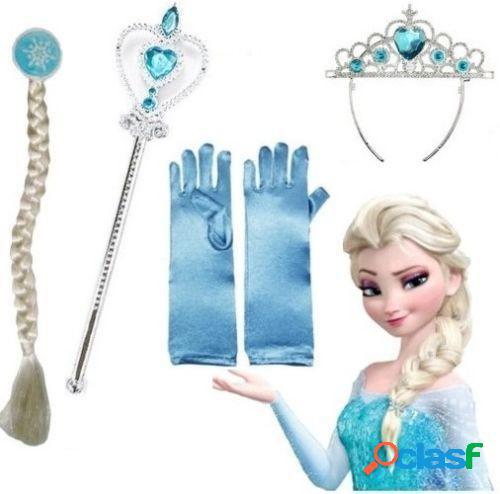 Kit accesorios inspirados en princesa Elsa Frozen