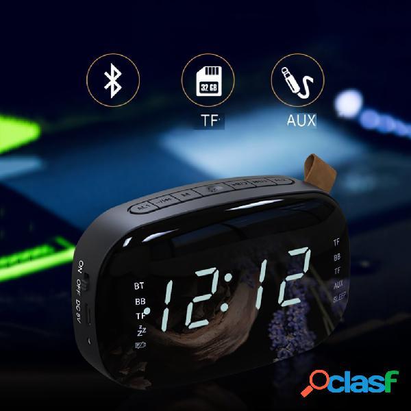 LED FM Radio reloj despertador digital con temporizador