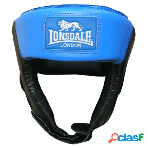 LONSDALE Casco de boxeo abierto azul tamaño M