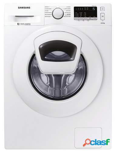 Lavadora Samsung WW80K4430YW - A+++ -10%, 8kg, Inverter,