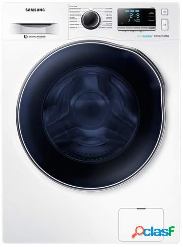 Lavadora Secadora Samsung WD80J6A10AW - A, 8+5kg, Inverter,
