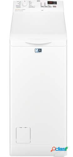 Lavadora carga superior AEG L6TBK621 - A+++, 6kg, Prosense,