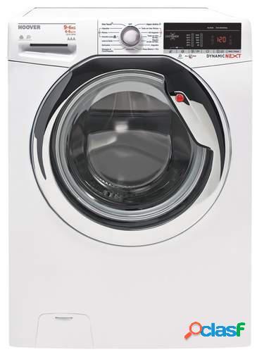 Lavadora secadora Hoover WDXOA 596A-37 - Clase A, 9+6 Kg,