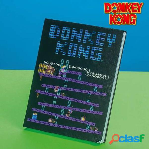Libreta Donkey Kong con movimiento