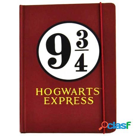 Libreta Premium Plataforma 9 y 3/4 Harry Potter A5
