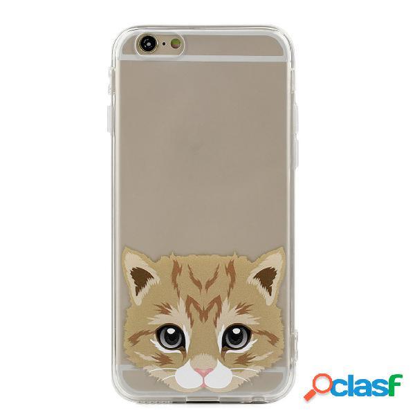 Lindo Gato y Perro de impresión IPhone Caso