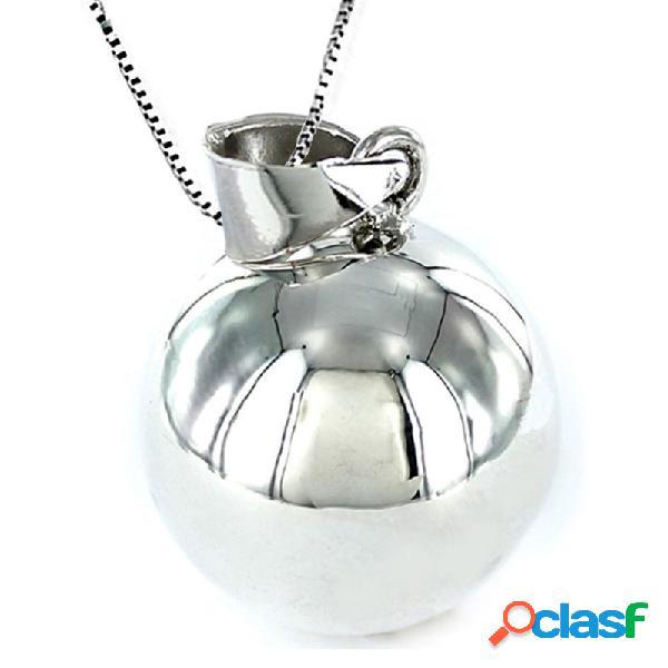 Llamador De Ángeles Collar Plata Mujer 9093872