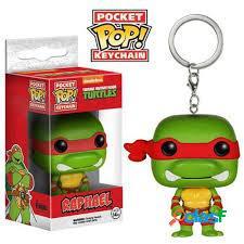 Llavero Pocket Pop Raphael Tortugas Ninja