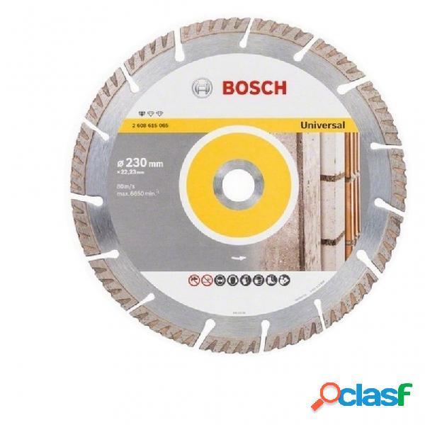 Lote 4 discos de diamante bosch standard 2x230 y 2x115 mm
