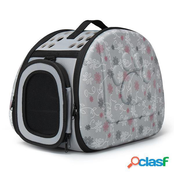 M tamaño Portable Pet Cat Dog Carrier Travel Bag Cómodo