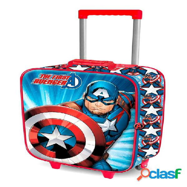 Maleta trolley de viaje Capitán América 52 cm
