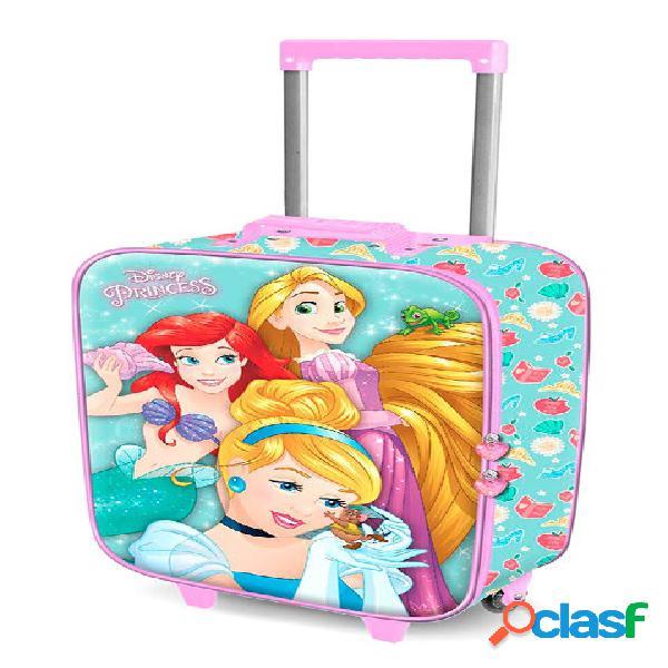 Maleta trolley de viaje Princesas Disney 52 cm