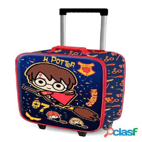 Maleta trolley de viaje Quidditch Harry Potter 52 cm