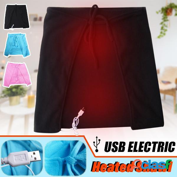 Manta eléctrica USB Mantilla de terciopelo Rodilla manta