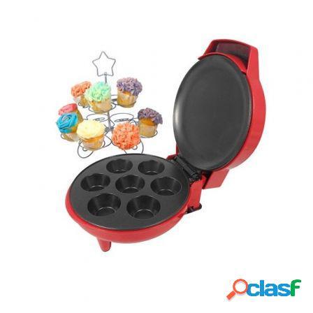 Maquina reposteria de cupcakes jocca 5512 - 900w - placa