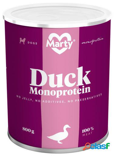Marty Lata Monoproteica Pato 890 gr