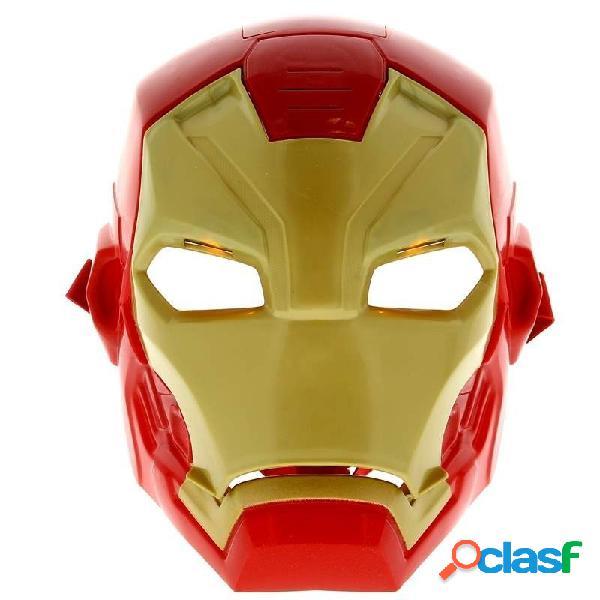 Mascara Iron Man con luz y sonido