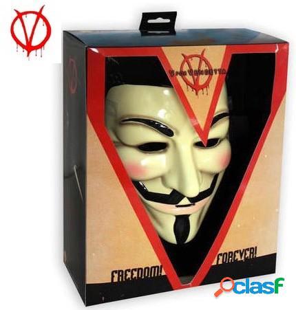 Mascara V de Vendetta Deluxe (Guy Fawkes)