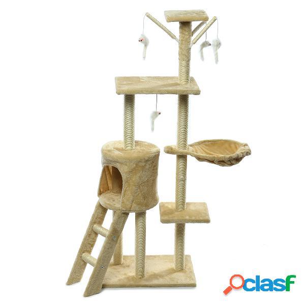 Mascota Gato Rascador Post Tree Scratcher Pole Furniture Gym