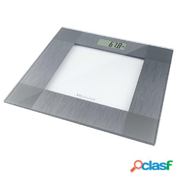 Medisana Báscula de baño PS 401 plateado 150 kg