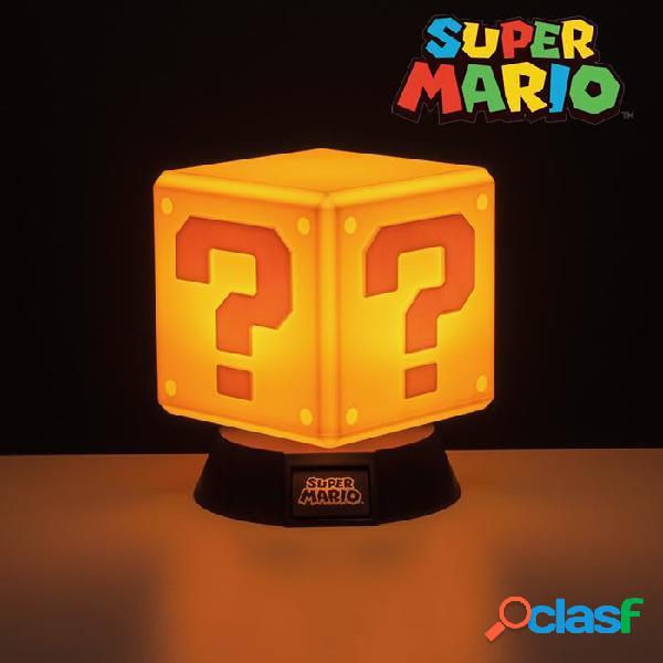 Mini Lampara Bloque Sorpresa Super Mario
