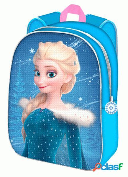 Mochila infantil Frozen lentejuelas reversible 30cm
