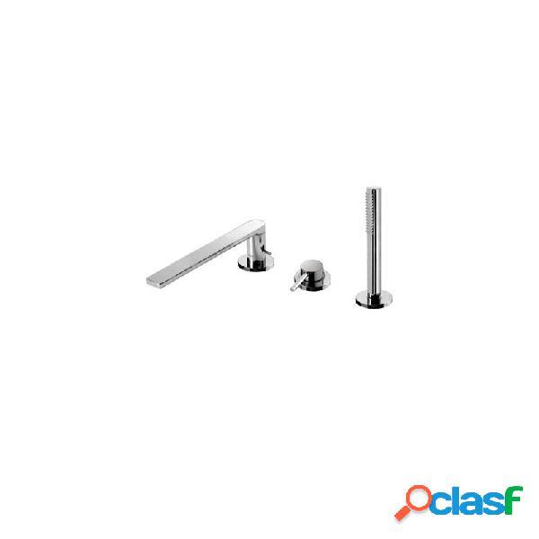 Monomando bañera repisa tres max cromado 230 mm 062.161.02