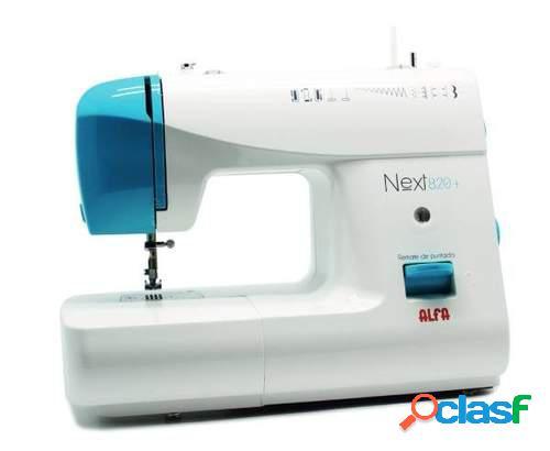 Máquina de coser Alfa Next 820+ - 9 Puntadas, Ojal Aut.,