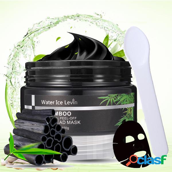 Máscara de Blackhead de carbón de bambú Máscaras Negro