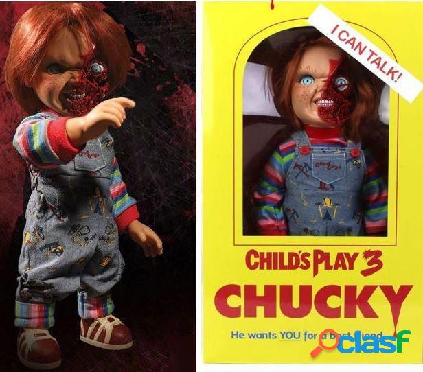 Muñeco Chucky con Sonido Child's Play 3: Talking Pizza Face