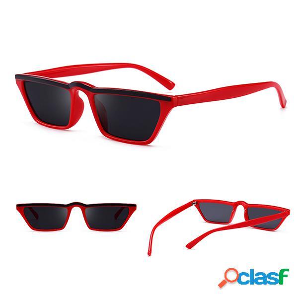 Mujer Ligero UV400 HD Gafas de sol cuadradas Gafas con forma