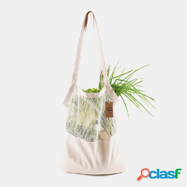Mujer Solid Eco Casual Hombro Bolsa Compras Bolsa