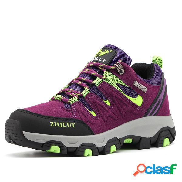 Mujer al aire libre Trekking, montañismo, calzado deportivo