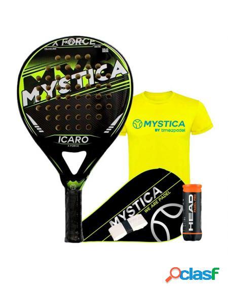 Mystica Icaro X Force Yellow 2019 - Palas de padel