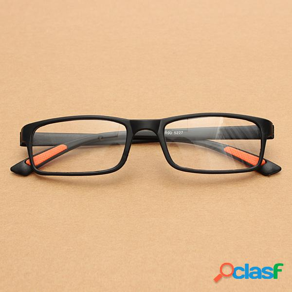 Negro TR90 Ligero Resina Fatiga Aliviar Lectura Gafas Ojo