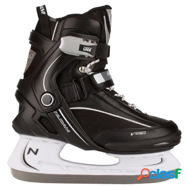 Nijdam patines para hockey sobre hielo talla 40 3350-ZWW-40
