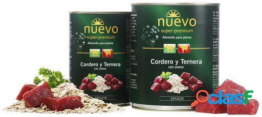 Nuevo Lata Senior Cordero y Ternera con Avena 450 GR