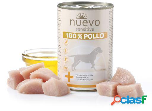 Nuevo Lata Sensitive Pollo 450 GR