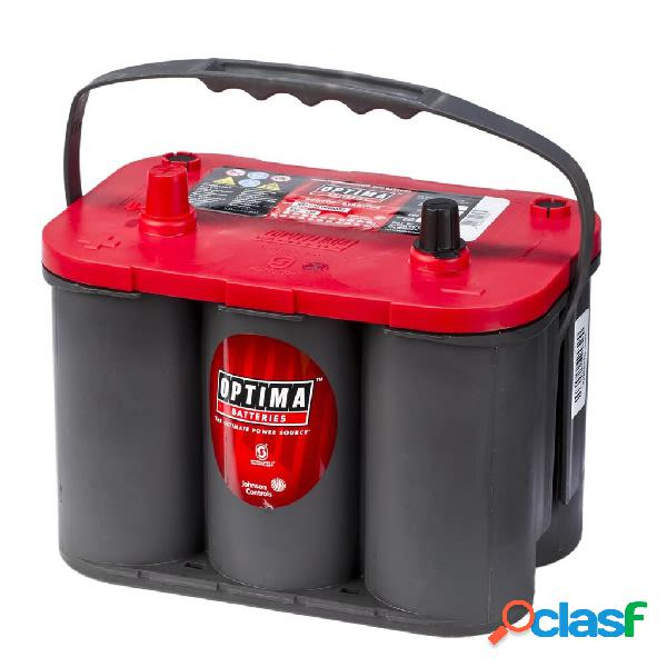 Optima Batería Red Top, 12 V 50 Ah RT S-4.2